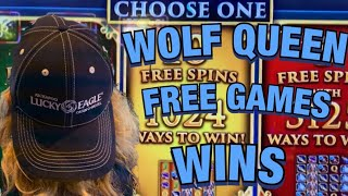 💰🍀WOLF QUEEN BONUS WINS MAX BET🍀💰KICKAPOO LUCKY EAGLE CASINO