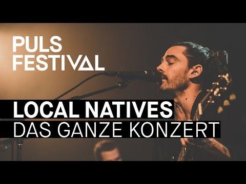 Local Natives live beim PULS Festival 2016 (Full Concert)