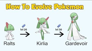 How To Evolve Pokémon - Geneŗation 3 Hoenn (Animated Sprites)