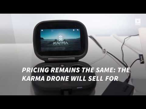GoPro's Karma drone is back on sale, three months after recall