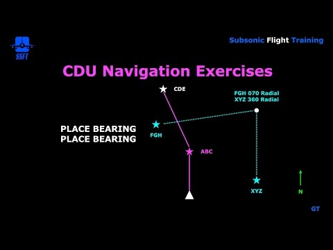 FMS CDU Exercises Part 2 (PMDG B747 400)
