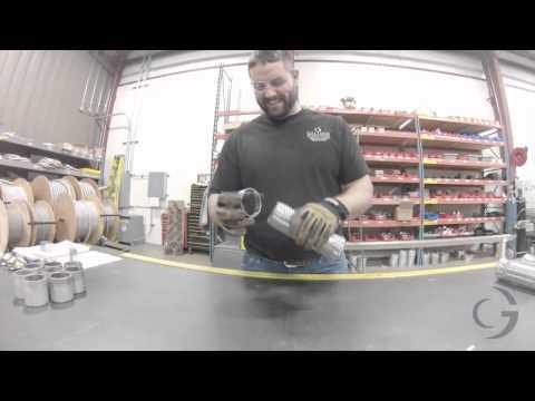 Flexible Metal Hoses Fabricated in Battle Creek Michigan