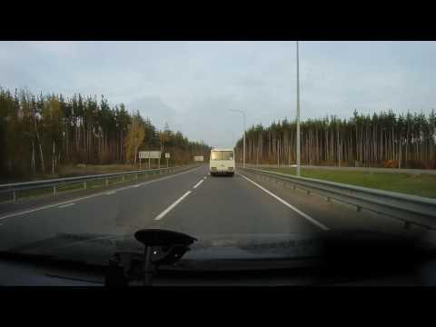 Почти авария на развязке Воронеж – Репное