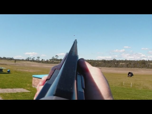 How to lead a target when shotgun shooting