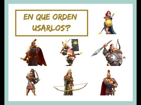 PvE: Guia de Comandantes Para Matar Barbaros - Rise of Kingdoms en Español