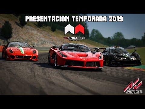 Assetto Corsa - PRESENTACIÓN European Series 2019 & GT3 SERIES