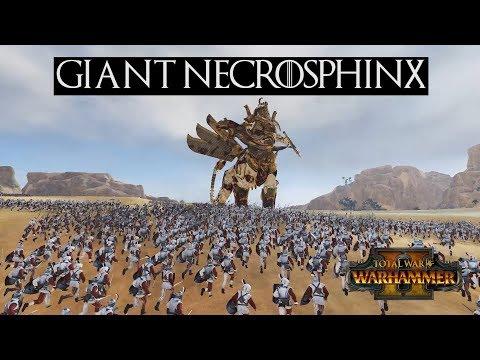 Total War Warhammer 2 Giant Necrosphinx
