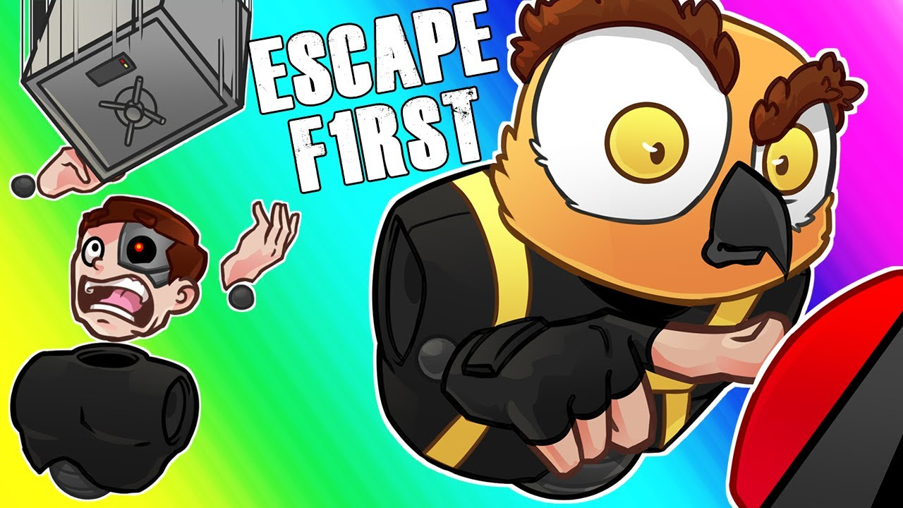 Escape First Funny Moments Red Buttons And Moo S Salt Corner Youtube
