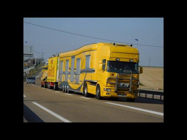 beau scania (camion de cirque)