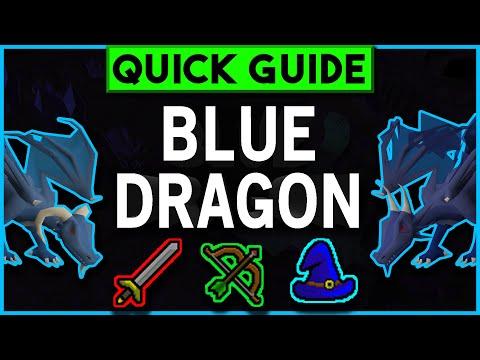 OSRS Blue Dragon Slayer Guide 2007 - Melee/Range/Magic Setups + Safe Spots & Cannon (SEP 2019)