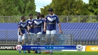 BoredisJoe FIFA 13 Career Match 2 - Mordov. Saransk 1 vs Melb Victory 6