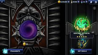 Iron Maiden legacy of the beast opening a sentinel mythical soul and 6 legendary souls