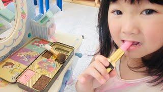 リップもマニキュアも!?メイクコスメ食べちゃった!Haru ate the makeup tools