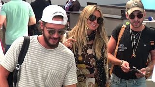 Heidi Klum And Boyfriend Tom Kaulitz Show PDA, Asked About Engagement Upon Arrival In L.A.