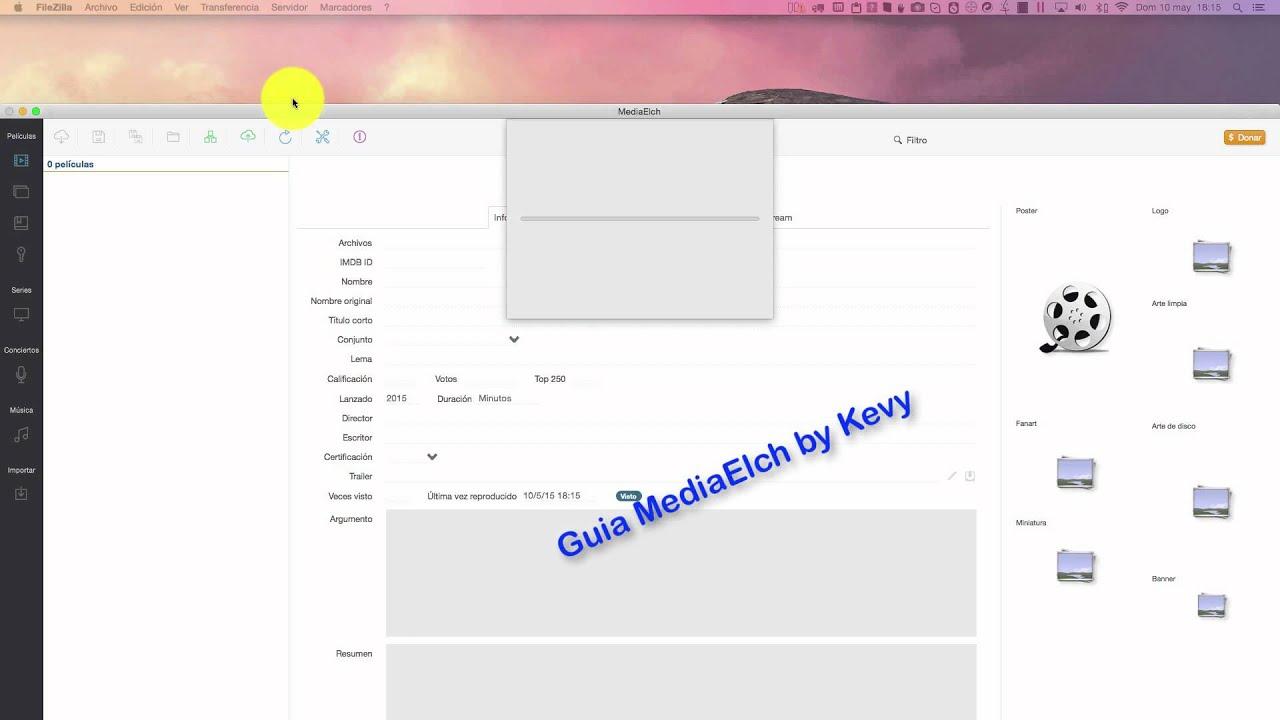 Guia Mediaelch 15 (by Kevy) - Scrapear informacion de las peliculas