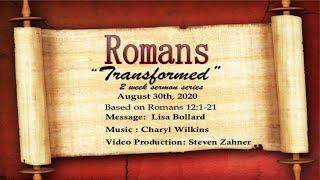 "30 Aug 2020 - ""Transformed"" Pt 2"
