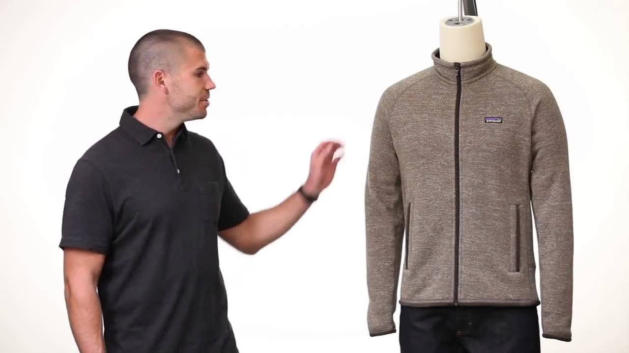 Patagonia Men's Better Sweater Fleece Jacket - YouTube
