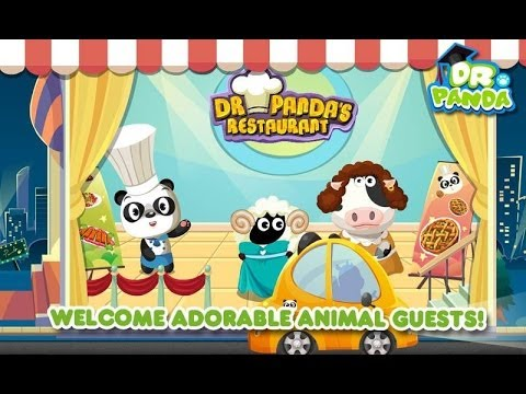Dr. Panda's Restaurant Android & iOS GamePlay