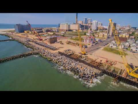 Absecon Inlet Seawall and Boardwalk Rebuild