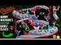 Full Custom | Orioles' Manny Machado's KAWS/BASQUIAT-GOYARD/SUPERMAN Cleats (Two Pairs!)