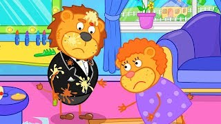 Lion Family New Suit Cartoon for Kids