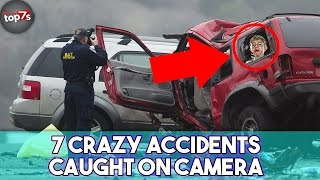 7 Crazy Accidents Caught On Camera