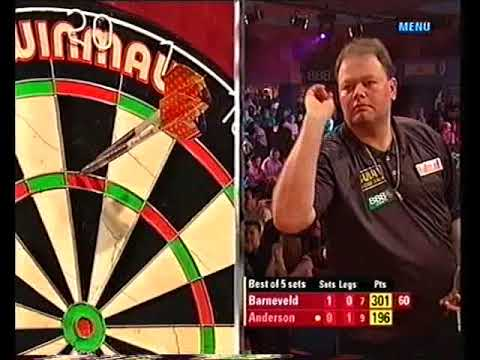 van Barneveld vs Anderson Darts World Championship 2005 Round 1