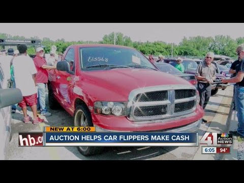 Auction helps car flippers make cash