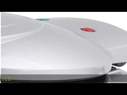 Brentwood Electric Omelet Maker Non Stick Silver Youtube