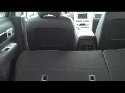2010 Lincoln Mkx How To Fold Down The Rear Seats With 1 Finger Carnationcanada