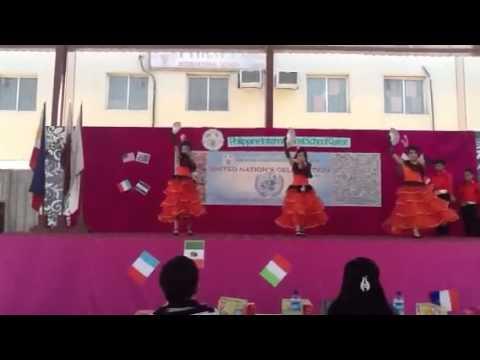 Grade 6 PISQ Spanish Warrior Dance 2013