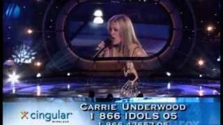 Carrie Underwood - Bless The Broken Road - Live