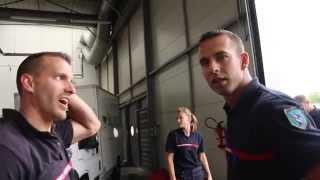 BACKSTAGE  - Bal des pompiers de Poissy 2014