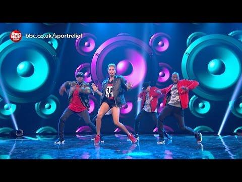 Lip Sync Battle: Greg James vs Alesha Dixon: Sport Relief 2016 - BBC