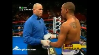 Andre Ward gets knocked down by Darnell Boone thumbnail