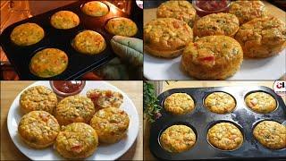 Baked Eggs Omelette Recipe ♥️ Healthy Oil free Breakfast RECIPE