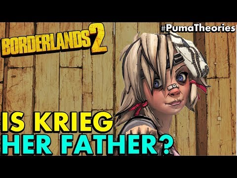 Borderlands 2 Theory: Is Krieg Really Tiny Tina's Father? What's his Story? #PumaTheories