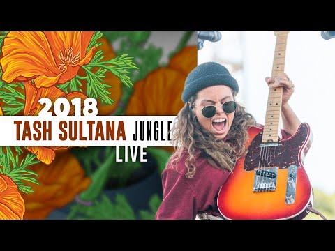 "Tash Sultana ""Jungle"" (Live) - California Roots 2018"