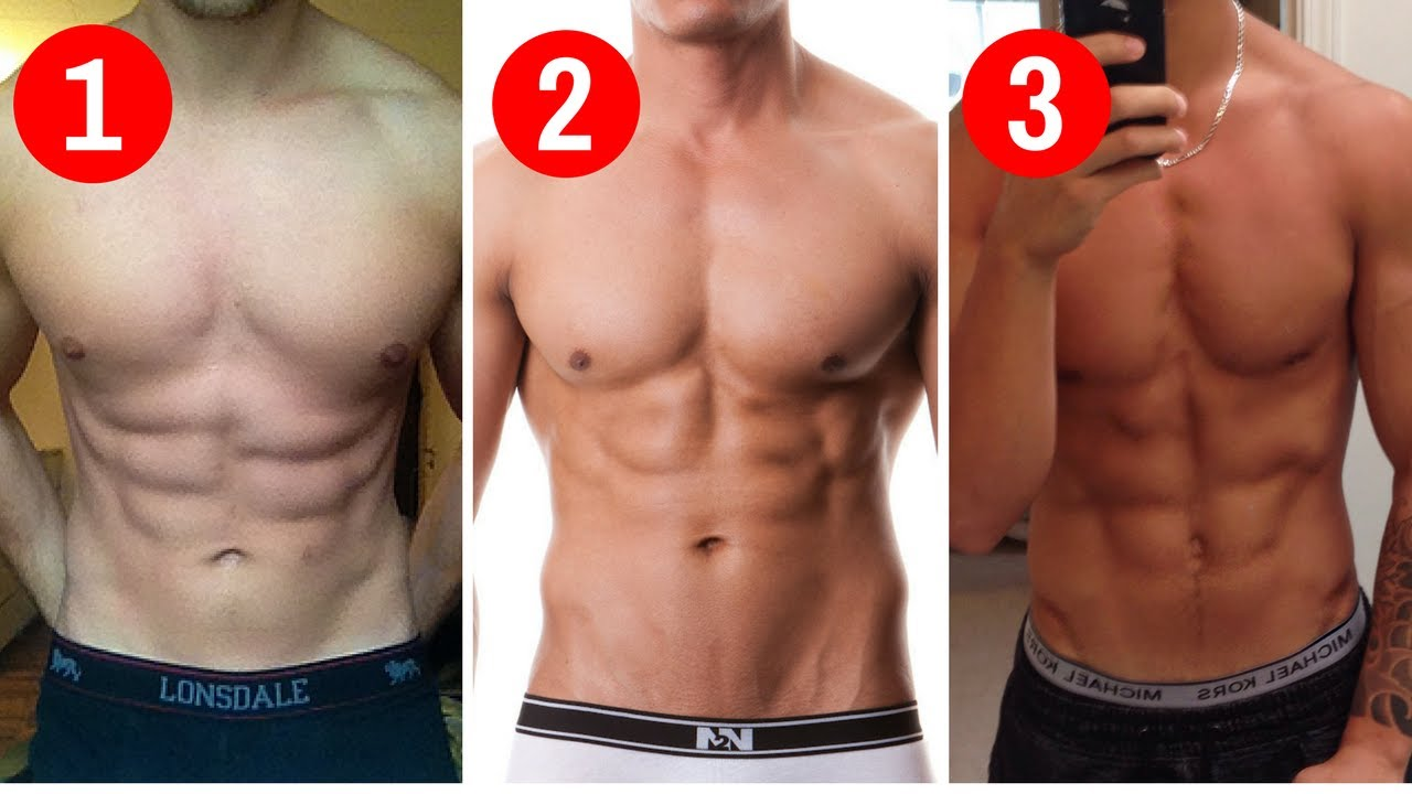 Uneven Abs The 3 Main Types And How To Tell Which One You Have