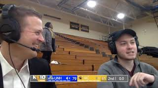 Head coach Andy Burkholder postgame interview vs New Haven 2/23/19