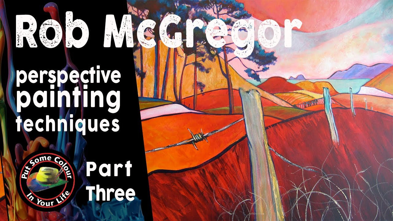 Painting perspective techniques with Rob McGregor - Part 3 ...