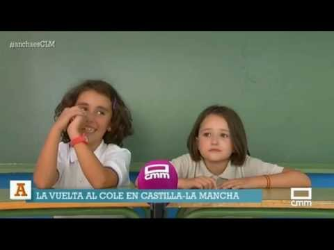 Vuelta al cole en Castilla - La Mancha. Ancha es Castilla - La Mancha.