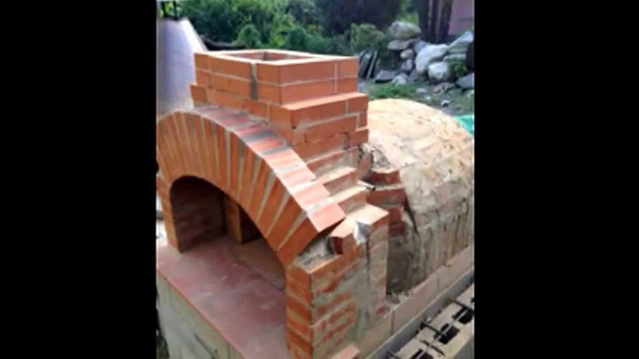 Costruire forno pizza a legna youtube for Sportello per forno a legna