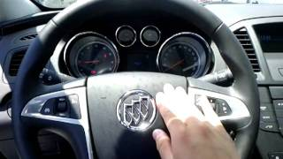 2011 Buick Regal CXL Horn