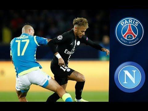 Paris Saint Germain 2 - 2 Naples (UCL 2018/19) #Naples #Paris