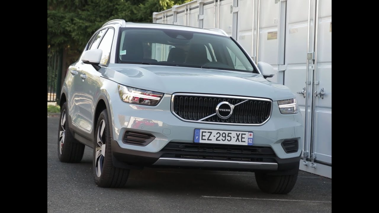 Essai Volvo Xc40 >> Essai Volvo Xc40 T3 156 Bvm6 Momentum 2018 Youtube