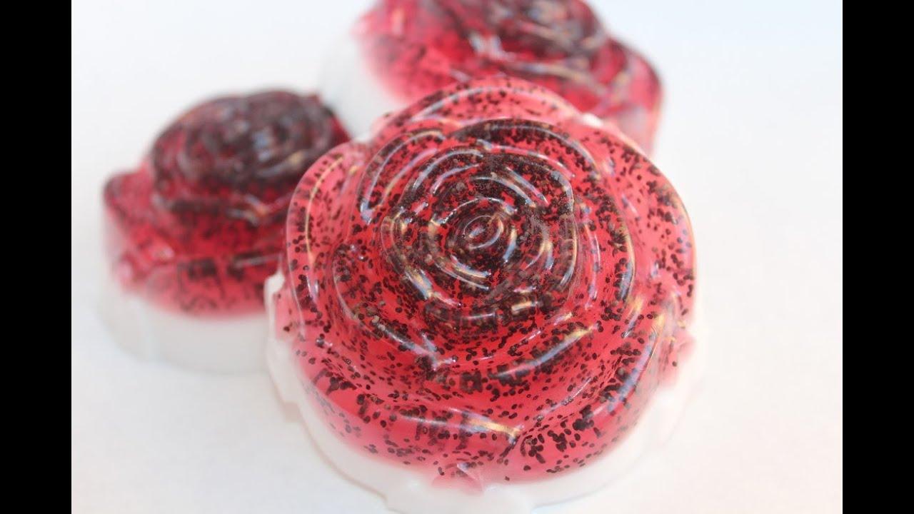 Мыловарение. Урок 2: Малиновая роза