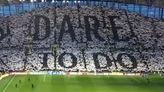 Glory Glory Tottenham Hotspur - Tottenham Fans Vs Manchester City