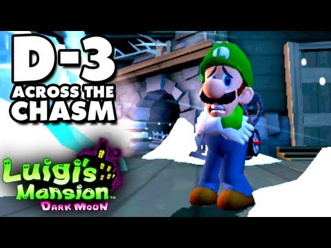 Luigi's Mansion Dark Moon - Secret Mine - D-3 Across the Chasm (Nintendo 3DS Gameplay Walkthrough)