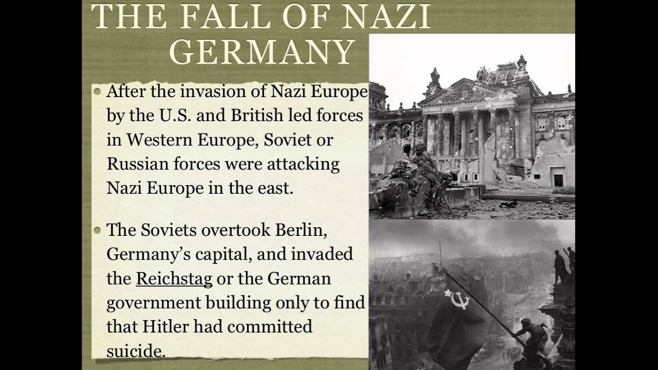 Image result for nazi germany's capital berlin falls
